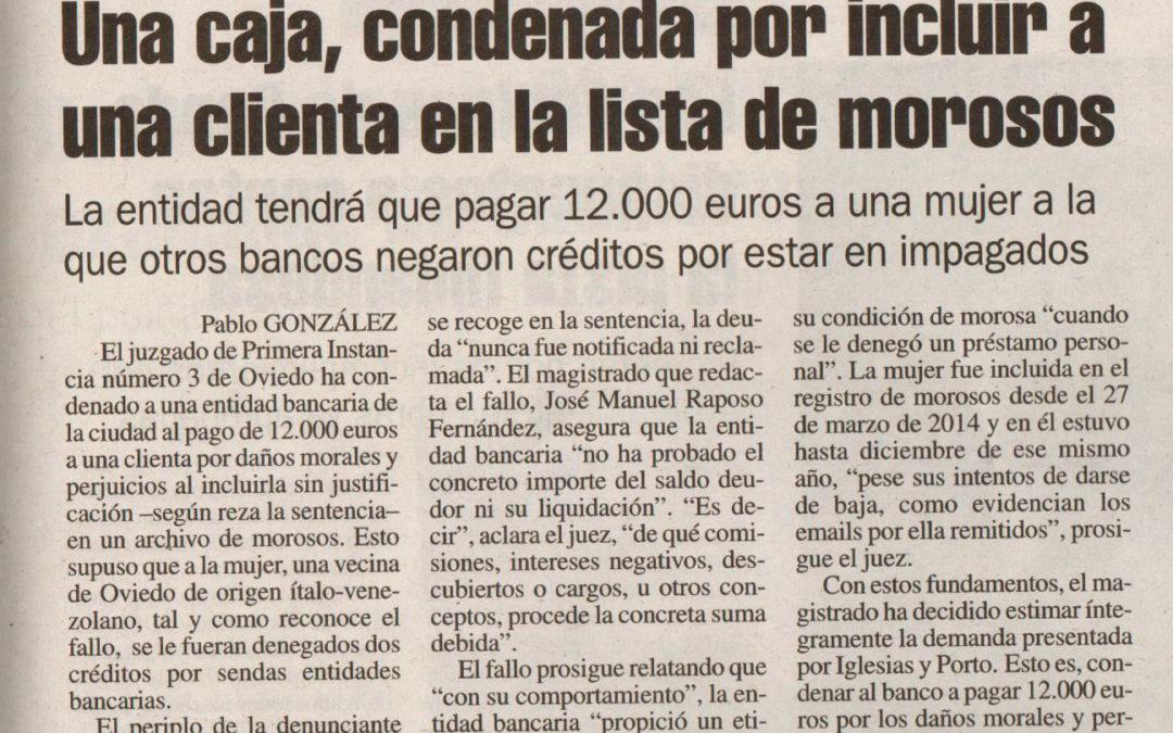 ILM Abogados gana un caso contra una entidad bancaria